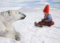 Winter Magic. Spellbinding Photographs by Per Breiehagen For Italian Children's Brand Chicco. | Moma