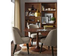 Madison Tables - Madison Table & Soren Chair in Walnut - Dining - Room & Board