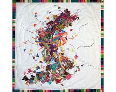 Art Quilt Etude in Fabric by ForQuiltsSake on Etsy, $75.00
