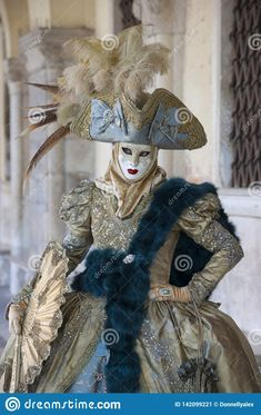 venetian costumes blue - Google Search