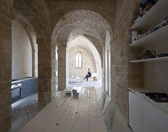 Tel-Aviv Penthouse Apartment - modern - dining room - Pitsou Kedem Architect