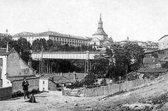 Antiguo viaducto de la calle Segovia,de 1874 a 1934