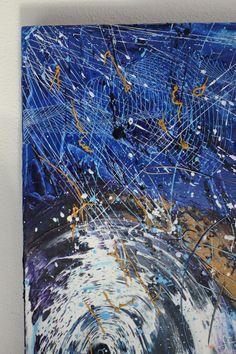 A part of White Wave Size 70cm x 100 cm x3 cm Oil Paint on canvas.