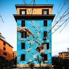 'Big City Rome' Public Art Project by Street Artists