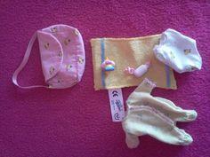 Miniworld Baby Born 7 teiliges Bekleidungs  Set