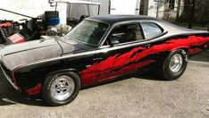Cool Sports Cars, Sport Cars, Cool Cars, Old School Muscle Cars, Dodge Muscle Cars, Demon Car, Chevy Nomad, Plymouth Duster, Plymouth Cars