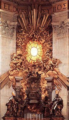 Cattedra di San Pietro - 1656-1665, Gian Lorenzo Bernini