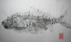 gyotaku tuna - Google Search