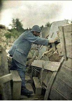 Soldat français, 1914-1918.