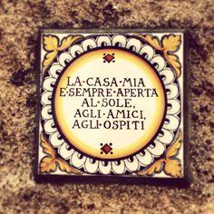 Italian sign