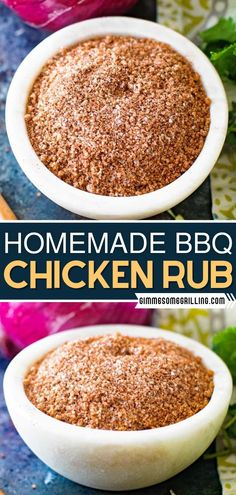 Thanks to pantry staples, this recipe is easy to make! With the perfect blend of spices, this delicious homemade dry rub is perfect for grilled chicken or smoked chicken. Learn the pro tip on how to… More Bbq Chicken Rub, Smoked Chicken, Grilled Chicken, Homemade Bbq, Homemade Spices, Homemade Taco Seasoning, Recipe Using Chicken, Best Chicken Recipes, Vegetable Seasoning