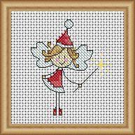 Fairy cross stitch.