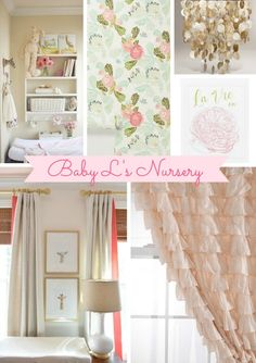 Inspiration from Anywhere… Baby Girl on the Way! | True Event | Event Design and Planning , Nursery, baby girl, coral, creams, mints and gold mixed (www.trueevent.com)