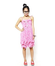 Take a look at this Pink Stone Shirred Infinity Dress by Infinity for Girls on #zulily today!