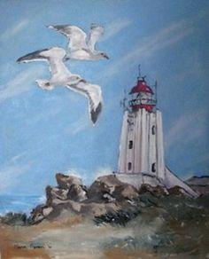 """""""Cape Columbine Lighthouse"""""""