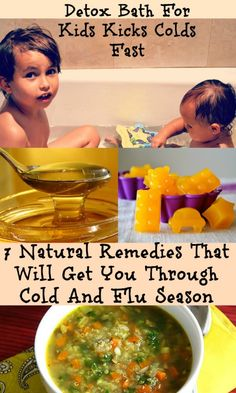These 7 Natural Remedies That Will Get You Through Cold And Flu Season. #naturalremedies #kids #colds #fluseason #homeremedies