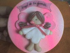 *COLD PORCELAIN ~ angelita de la guarda by artesaniasdulcedeleche-porcelana fria, via Flickr