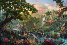 The Jungle Book  - Thomas Kinkade