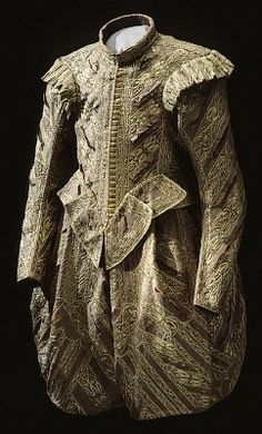 Men Suits (1611-1632) Suit of Gustav II of Sweden (1620) - Royal Armory and Alwyll Museum CONJUNTO MASCULINO CON CORPIÑO Y CALZON 1611-1632