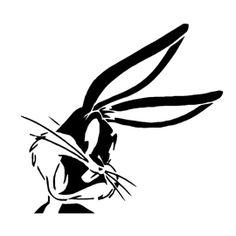 Bugs Bunny Stencil