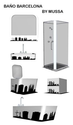 Barcelona Bathroom Set at Mussa Sims 3 - Sims 3 Finds