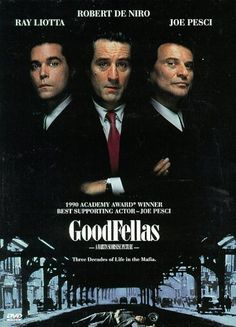 "One of the best mob movies ever!  Remember when Liotta's wife asked for shopping money? ""I want this much"" (measuring with her fingers) - I wanna do that one day!"