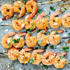 Coconut-Harissa Grilled Shrimp Skewers are an easy summer dinner.