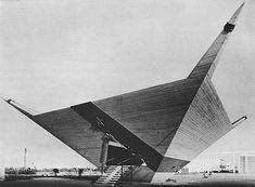 French-Moroccan architect Jean-François Zevaco (1916–2003) - Pavillion for Casablanca at the International Fair