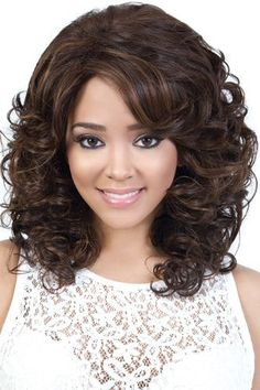 Motown Tress Synthetic Wig - Laila