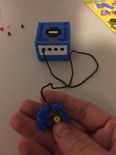 papyrus and sans undertale perler beads - Google Search