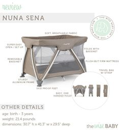 The Wise Baby's review of our multifunctional Sena!