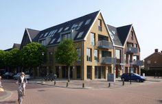 Woongebouw De Florijn Zegveld NL | Arc2 architecten Innovative Architecture, Architecture Office, Transformers, Street View, Mansions, Landscape, House Styles, Design, Home Decor