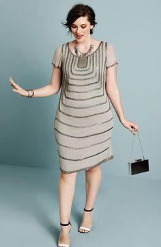Sexy Plus Size Shift Dresses