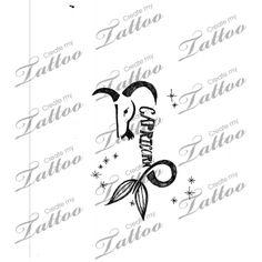 Marketplace Tattoo Capricorn #11007 | CreateMyTattoo.com