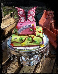 Schmetterling torte  Butterfly cake  Birthday cake