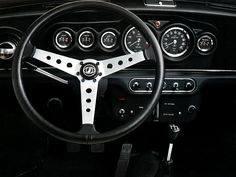 1970 Innocenti Mini Cooper 1300 dashboard. I thought at the time this was the coolest dashboard I ever saw