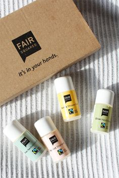 Fair Squared – FAIR CARE Set #fairtrade #skincare #naturkosmetik #fairsquared #travelset