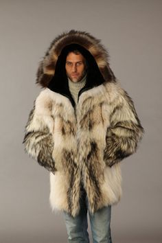 Fur coat Louis Vuitton Fashion for men | Pelz für Männer - Furs ...