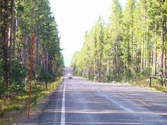 Entrance in Yellowstone south
