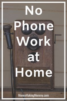 Working at home is a dream for many. And there are an abundance of remote jobs right now. But many require you to be on the phone or in a call-center type position. If that doesn't appeal to you, don't give up. This is a big list of no-phone required work at home jobs! #workathome #remotework #nophoneworkathome #hiring Home Based Jobs, Work From Home Companies, Online Jobs From Home, Work From Home Opportunities, Work From Home Jobs, Make Money From Home, Way To Make Money, Time Management Activities, Home Websites