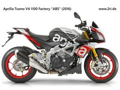 "Aprilia Tuono V4 1100 Factory ""ABS"" (2016)"