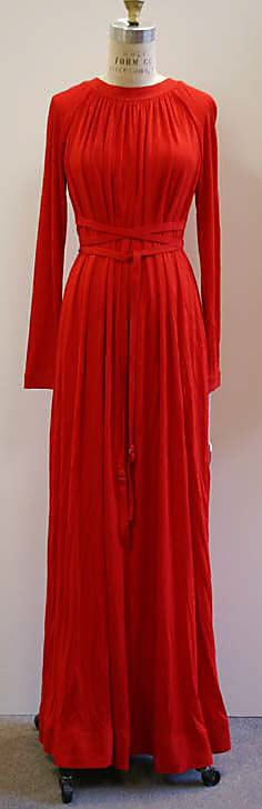 Geoffrey Beene Evening dress ca. 1978