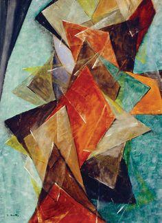 Jeune Fille (1921) / by Jean Crotti