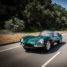Steve McQueen's 1956 Jaguar XKSS. I cannot believe I missed the chance to buy a copy of this model, just the other day. I AM kicking myself.