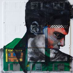 Floppy Disk Portraits Artwork