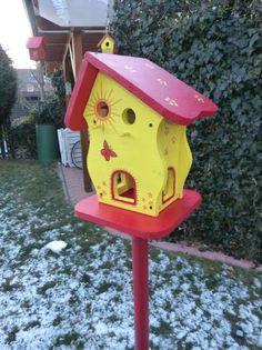 Vogelhaus Futterhaus  Vogelvilla Vogelhäuschen Futterhäuschen Nistkasten Vogelhäuser Futterhäuser