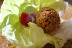 Blogilates healthy baked falafel!