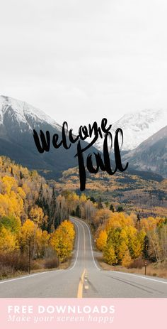Obsessed with these fall inspired device downloads! | Fall Phone Backgrounds…