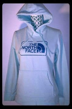 Flash sale !Teal North Face Jacket Hoodie Womens size small teal or light blue women's north face. Nwot. North Face Jackets & Coats Utility Jackets
