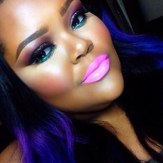 #makeup - @tredayy_- #webstagram